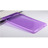Чехол-бампер силиконовый фиолетовый прозрачный для планшета Apple iPad mini 1, iPad mini 2, iPad mini 3 BUMPER PURPLE CLEAR