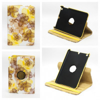 Чехол для Apple iPad mini 1, iPad mini 2, iPad mini 3 SWIVEL SPRING FLOWERS YELLOW Весенние цветы желтые с поворотным механизмом