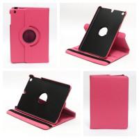 Чехол для Apple iPad mini 1, iPad mini 2, iPad mini 3 SWIVEL ROSE RED Темно-розовый с поворотным механизмом