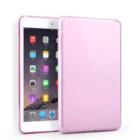 Чехол-бампер силиконовый розовый прозрачный для планшета Apple iPad mini 1, iPad mini 2, iPad mini 3 BUMPER PINK CLEAR