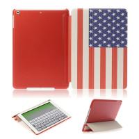 Чехол iPad mini 1, iPad mini 2 with retina, iPad mini 3 Цвет: АМЕРИКАНСКИЙ ФЛАГ