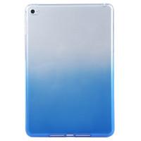 Чехол-бампер силиконовый синий прозрачный для планшета Apple iPad mini 1, iPad mini 2, iPad mini 3 BUMPER BLUE CLEAR