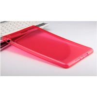 Чехол-бампер силиконовый красный прозрачный для планшета Apple iPad mini 1, iPad mini 2, iPad mini 3 BUMPER RED CLEAR