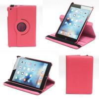 Чехол для Apple iPad mini 4 A1538 A1550 (iPad mini 4 Wi-Fi + Cellular) SWIVEL ROSE RED темно-розовый с поворотным механизмом