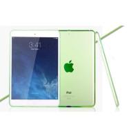 Чехол-накладка силиконовый зеленый прозрачный для планшета Apple iPad mini 4 A1538 A1550 (iPad mini 4 Wi-Fi + Cellular) BUMPER GREEN CLEAR