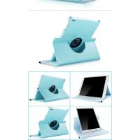Чехол голубой для Apple iPad Air, iPad Air 2, iPad 2017, iPad 2018  с поворотным механизмом