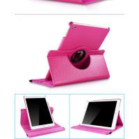 Чехол темно-розовый для Apple iPad Air, iPad Air 2, iPad 2017, iPad 2018  с поворотным механизмом