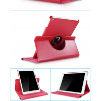 Чехол красный для Apple iPad Air, iPad Air 2, iPad 2017, iPad 2018  с поворотным механизмом