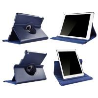 Чехол синий для Apple iPad Air, iPad Air 2, iPad 2017, iPad 2018  с поворотным механизмом
