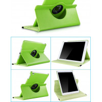 Чехол зеленый для Apple iPad Air, iPad Air 2, iPad 2017, iPad 2018  с поворотным механизмом