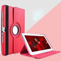 Чехол Samsung Galaxy Note 10.1 N8000 N8010 (2012 года) красный поворотный