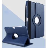 Чехол Samsung Galaxy Note 10.1 N8000 N8010 (2012 года) синий поворотный