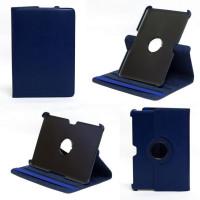 Чехол Samsung Galaxy Tab 10.1 P7500 P5100 DARK BLUE SWIVEL синий с поворотным механизмом