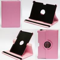 Чехол Samsung Galaxy Tab 10.1 P7500 P5100 PINK SWIVEL розовый с поворотным механизмом