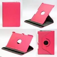 Чехол Samsung Galaxy Tab 10.1 P5100 ярко-розовый поворотный
