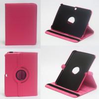 Чехол Samsung Galaxy Tab 3 10.1 P5200 ярко-розовый поворотный