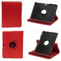 Чехол Samsung Galaxy Tab 3 10.1 P5200 красный поворотный