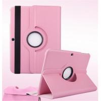 Чехол Samsung Galaxy Tab 3 10.1 P5200 светло-розовый поворотный