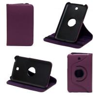 Чехол Samsung Galaxy Tab 3 7.0 T210 T211 P3200 фиолетовый поворотный