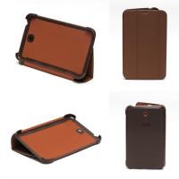 Чехол Samsung Galaxy Tab 3 7.0 t210 t211 t213 T216 BROWN THIN коричневый