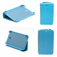 Чехол Samsung Galaxy Tab 3 7.0 t210 t211 t213 T216 BLUE THIN бирюзовый