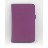 Чехол Samsung Galaxy Tab 3 7.0 T210 T211 P3200 фиолетовый книжка PURPLE BOOK