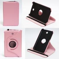 Чехол Samsung Galaxy Tab 3 7.0 T210 T211 P3200 PINK SWIVEL розовый с поворотным механизмом