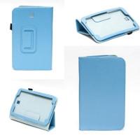 Чехол Samsung Galaxy Tab 3 7.0 T210 T211 P3200 бирюзовый книжка BLUE BOOK