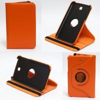 Чехол Samsung Galaxy Tab 3 7.0 T210 T211 P3200 ORANGE SWIVEL оранжевый с поворотным механизмом