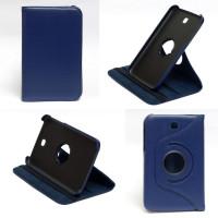Чехол Samsung Galaxy Tab 3 7.0 T210 T211 P3200 синий с поворотным механизмом TTX DARK BLUE SWIVEL