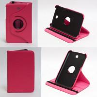 Чехол Samsung Galaxy Tab 3 7.0 T210 T211 P3200 ROSE RED SWIVEL ярко-розовый с поворотным механизмом