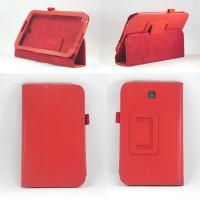 Чехол Samsung Galaxy Tab 3 7.0 T210 T211 P3200 красный книжка RED BOOK