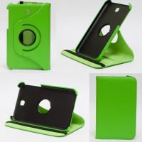 Чехол Samsung Galaxy Tab 3 7.0 T210 T211 P3200 зеленый поворотный GREEN SWIVEL