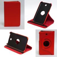 Чехол Samsung Galaxy Tab 3 7.0 T210 T211 P3200 RED SWIVEL красный с поворотным механизмом