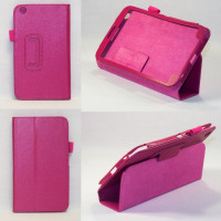 Чехол Samsung Galaxy Tab 3 8.0 T310 T311 ярко-розовый