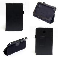 Чехол Samsung Galaxy Tab 3 Lite 7.0 t110 t111 t113 T116 BLACK BOOK черный книжка