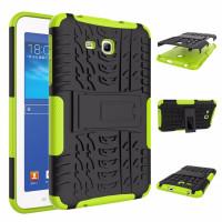 Чехол-бампер защитный зеленый для планшета Samsung Galaxy Tab 3 Lite 7.0 t110 t111 t113 T116 BUMPER GREEN SKELETON