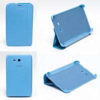 Чехол Samsung Galaxy Tab 3 Lite 7.0 t110 t111 t113 T116 BLUE THIN бирюзовый