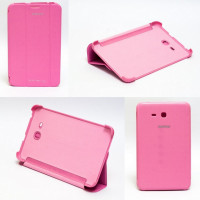 Чехол Samsung Galaxy Tab 3 Lite 7.0 t110 t111 t113 T116 PINK THIN розовый