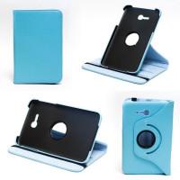 Чехол Samsung Galaxy Tab 3 Lite 7.0 t110 t111 t113 T116 SWIVEL BLUE бирюзовый поворотный