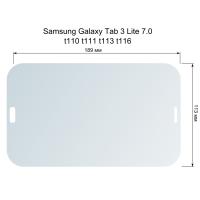 Защитное стекло для экрана Samsung Galaxy Tab 3 Lite 7.0 t110 t111 t113 T116