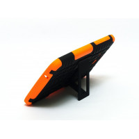 Чехол-бампер защитный оранжевый для планшета Samsung Galaxy Tab 3 Lite 7.0 t110 t111 t113 T116 BUMPER ORANGE SKELETON