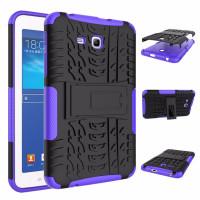 Чехол-бампер защитный Фиолетовый для планшета Samsung Galaxy Tab 3 Lite 7.0 t110 t111 t113 T116 BUMPER PURPLE SKELETON