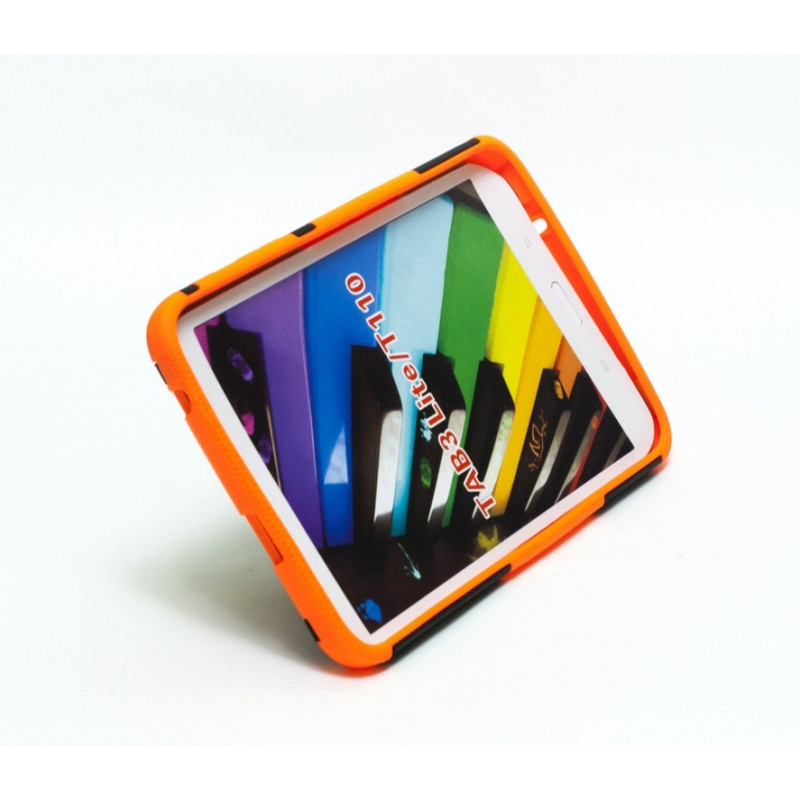Чехол-бампер защитный оранжевый для планшета Samsung Galaxy Tab 3 Lite 7 0  t110 t111 t113 T116 BUMPER ORANGE