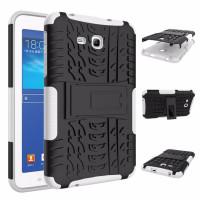 Чехол-бампер защитный БЕЛЫЙ для планшета Samsung Galaxy Tab 3 Lite 7.0 t110 t111 t113 T116 BUMPER WHITE SKELETON