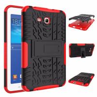 Чехол-бампер защитный Красный для планшета Samsung Galaxy Tab 3 Lite 7.0 t110 t111 t113 T116 BUMPER RED SKELETON