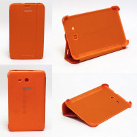 Чехол Samsung Galaxy Tab 3 Lite 7.0 t110 t111 t113 T116 ORANGE THIN оранжевый