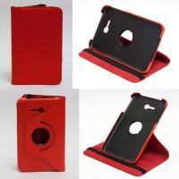 Чехол Samsung Galaxy Tab 3 Lite 7.0 t110 t111 t113 T116 SWIVEL RED красный поворотный