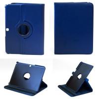 Чехол Samsung Galaxy Tab 4 10.1 T530 T531 SWIVEL DARK BLUE синий с поворотным механизмом