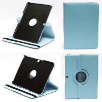Чехол Samsung Galaxy Tab 4 10.1 T530 T531 SWIVEL BLUE бирюзовый с поворотным механизмом
